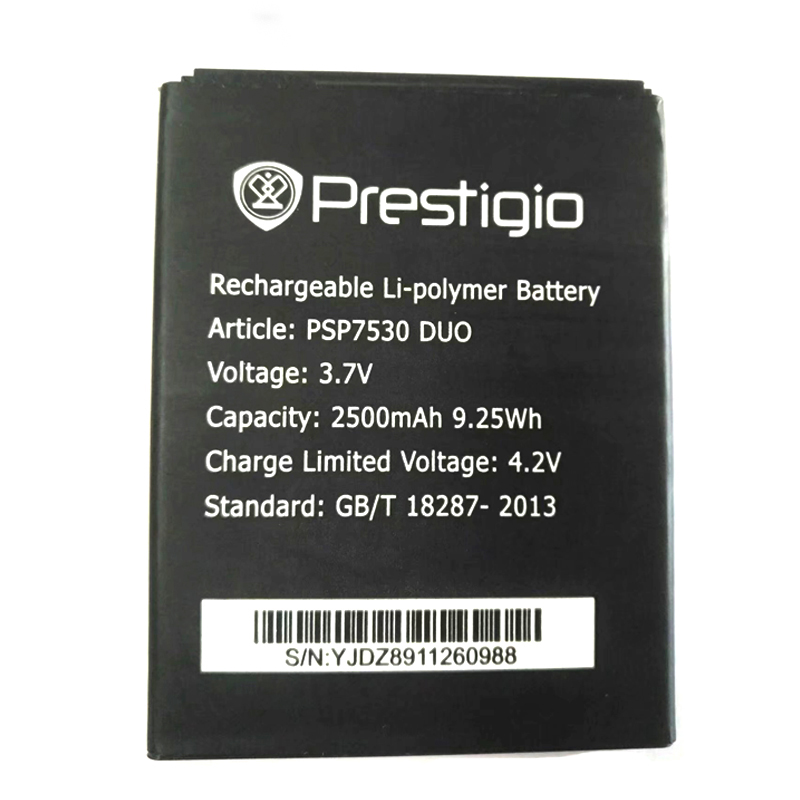 PSP7530 DUO New High Quality Battery For Prestigio Muze D3 PSP3530 DUO E3 PSP3531 DUO Muze A7 PSP3532 Phone+Tracking Number image