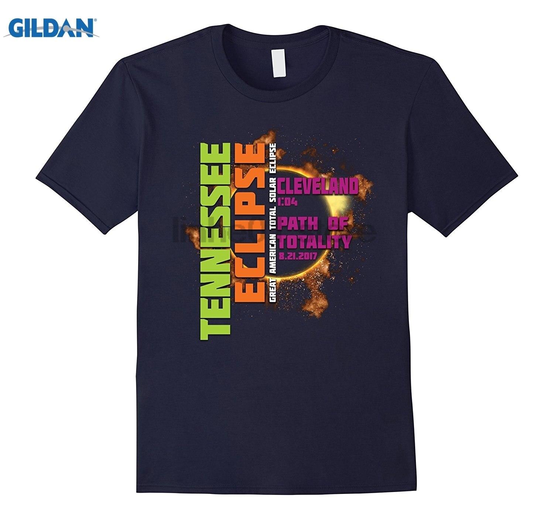 GILDAN Cleveland, Tennessee 2017 Solar Eclipse TShirt, T Shirt dress T-shirt
