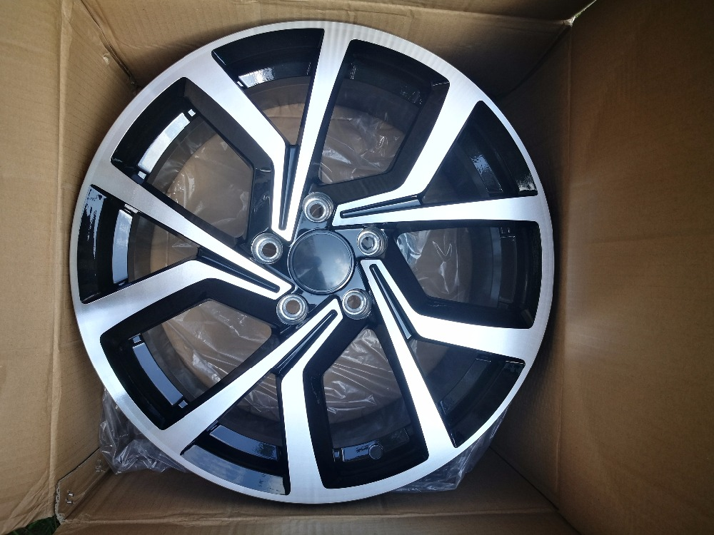 Rims On Car App >> 15x7.0 17x7.5 5x100 5x112 Car Aluminum Alloy Wheel Rims fit for Volkswagen-in Wheels from ...