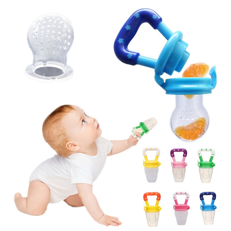 Nipple Fresh Fruit Milk Nibbler Feeder For Infant Baby Pacifiers Kids Safety Feeding Tool Supplies Nipple Teat Pacifier Bottles