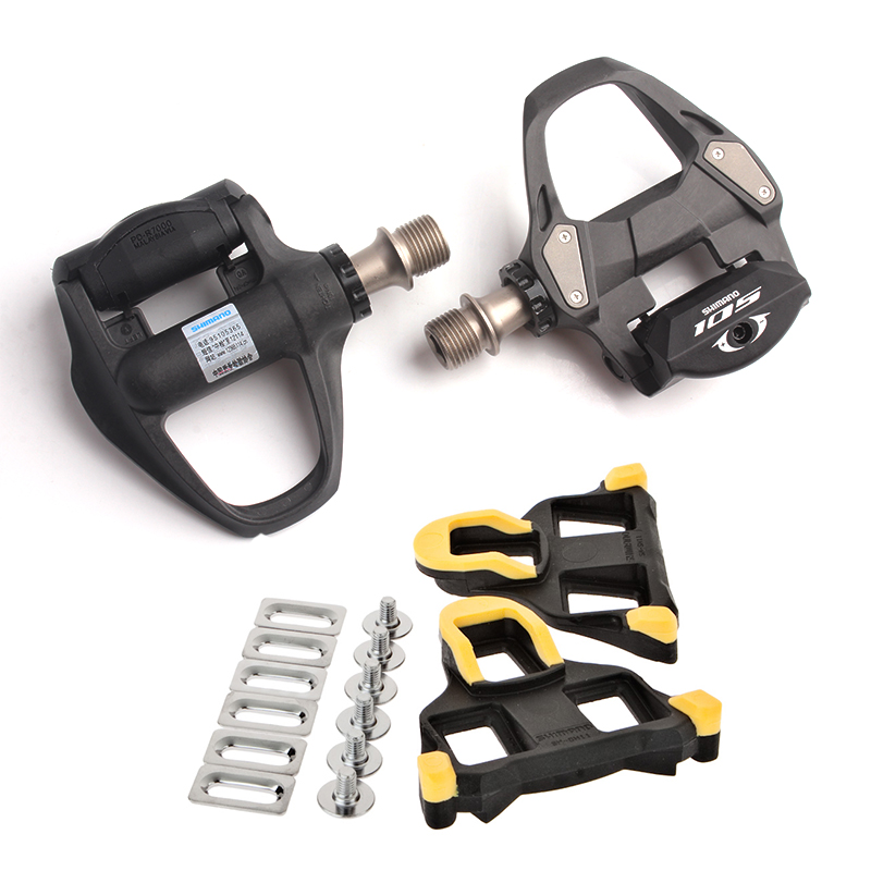 SHIMANO 105 PD R7000 Road Bicycle Self-Locking SPD Pedals CARBON Bike Pedal with SH11 Cleats shimano dura ace black carbon fiber bike pedals pd r9100 9100 pedal with sm sh12 cleats