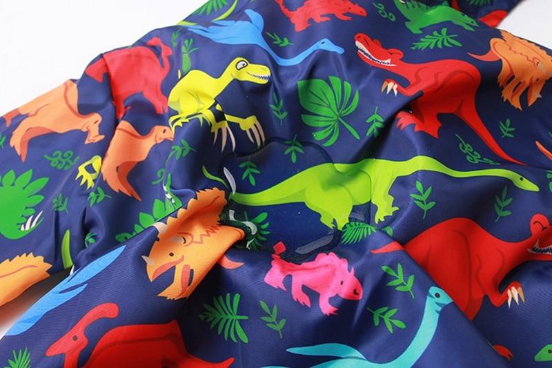 CROAL CHERIE  Cotton Jacket For Kids Boys Windbreaker Cartoon Dinosaur 2019 Autumn Children Coat For Girls Kids Clothes 80-130cm (11)