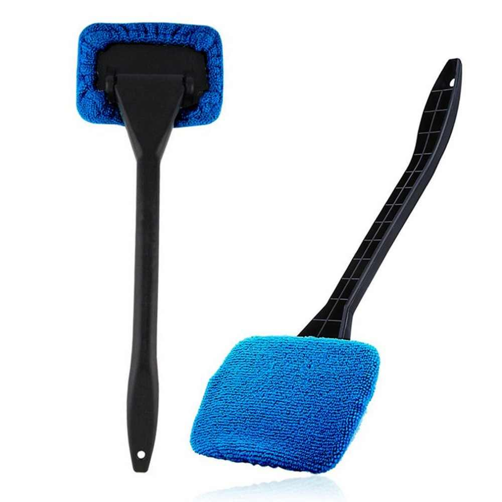 Car Mop Cleaning Windows Windshield Fog Cleaning Tool Brush Washing Rag Wipe Duster Home Office Auto Windows Glass Cloth