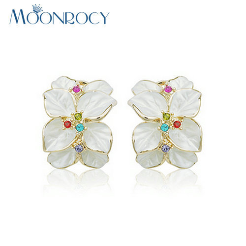 MOONROCY Drop Shipping Rose Gold Color Wholesale Austrian Crystal