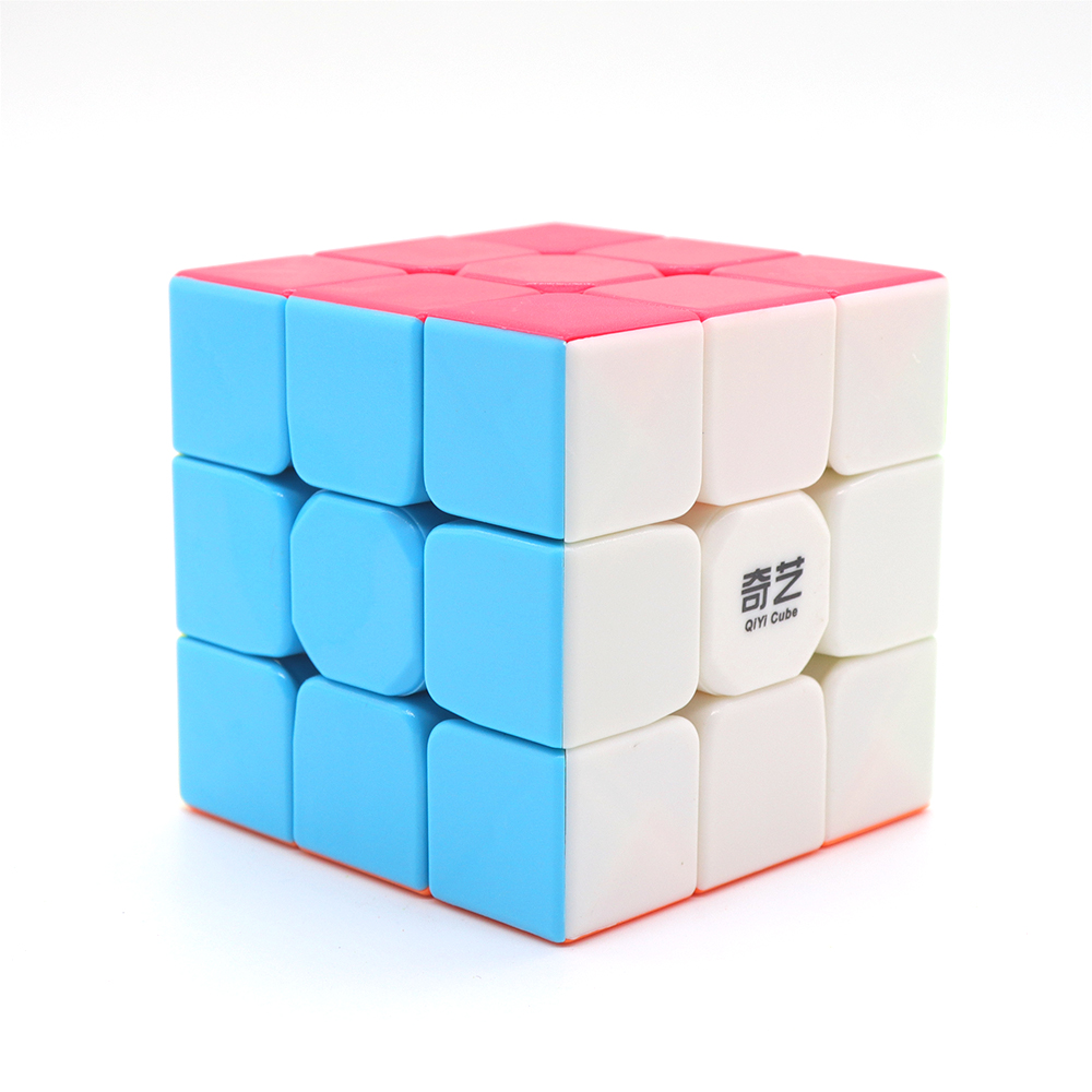 Qiyi Warrior W 3x3x3 Speed Cube Stickerless Professional Magic Cube Puzzles Colorful Educational Toys For Children Magic Cubo
