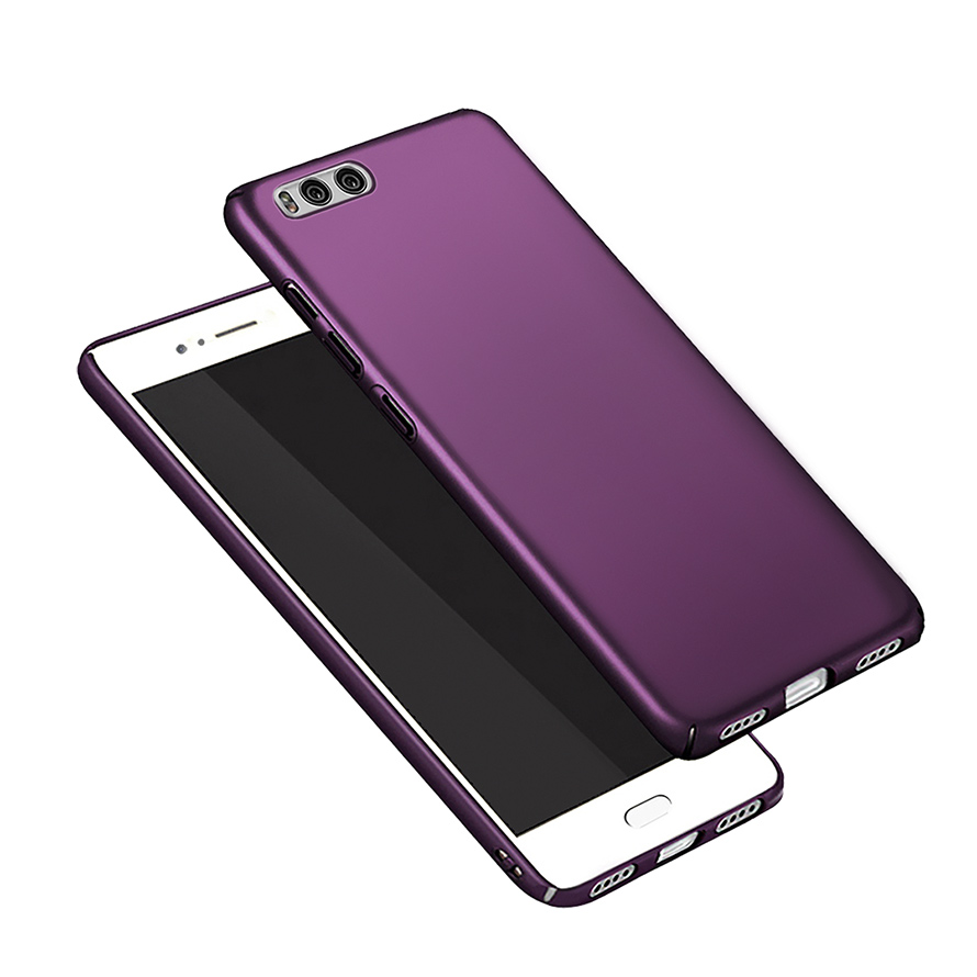 Original Case For Xiaomi mi 4i 4C 5 M5 M6 Phone Nice Hard PC Plain Frosted Back Cover 5X 5S A1 6 Shell