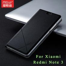 Роскошные Xiaomi Redmi Note 3 чехол Msvii бренд Xiaomi Redmi Note 3 Pro Prime чехол Бумажник кожаный чехол для Redmi Note3 5.5″
