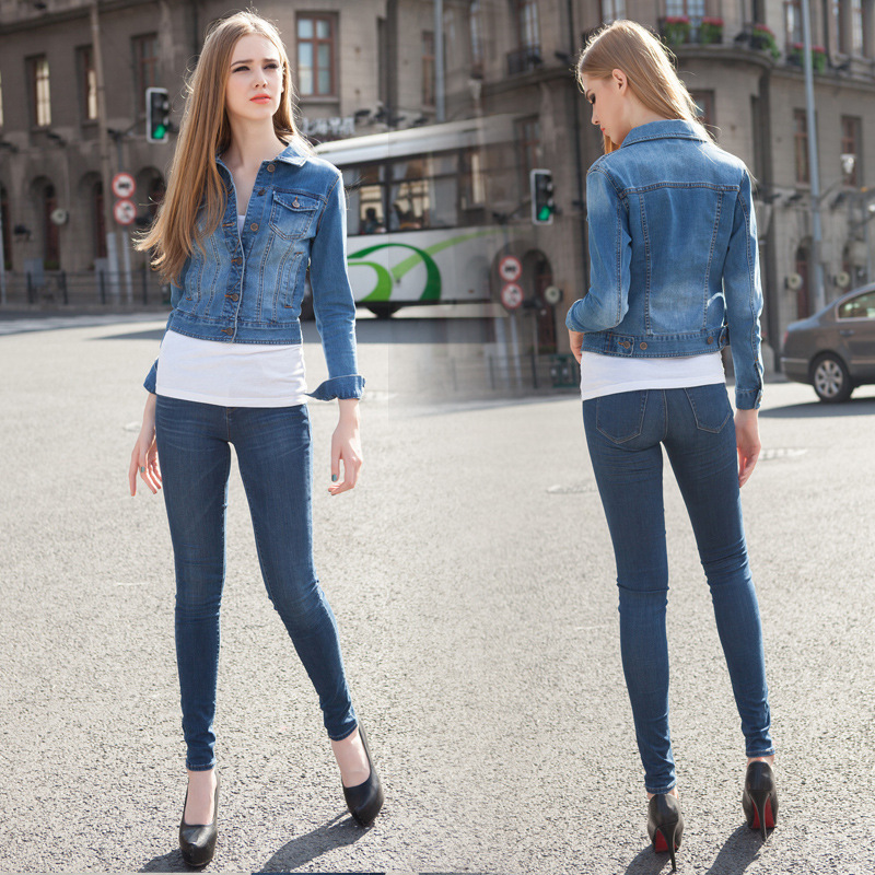 Aliexpress.com : Buy 2015 spring women's stretch skinny denim ...