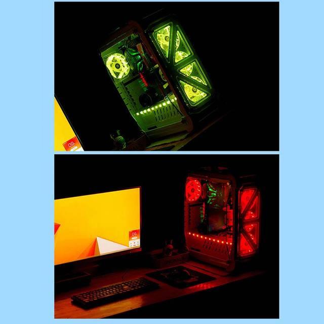 New 12cm Ultra Silent LED Case Fans 1
