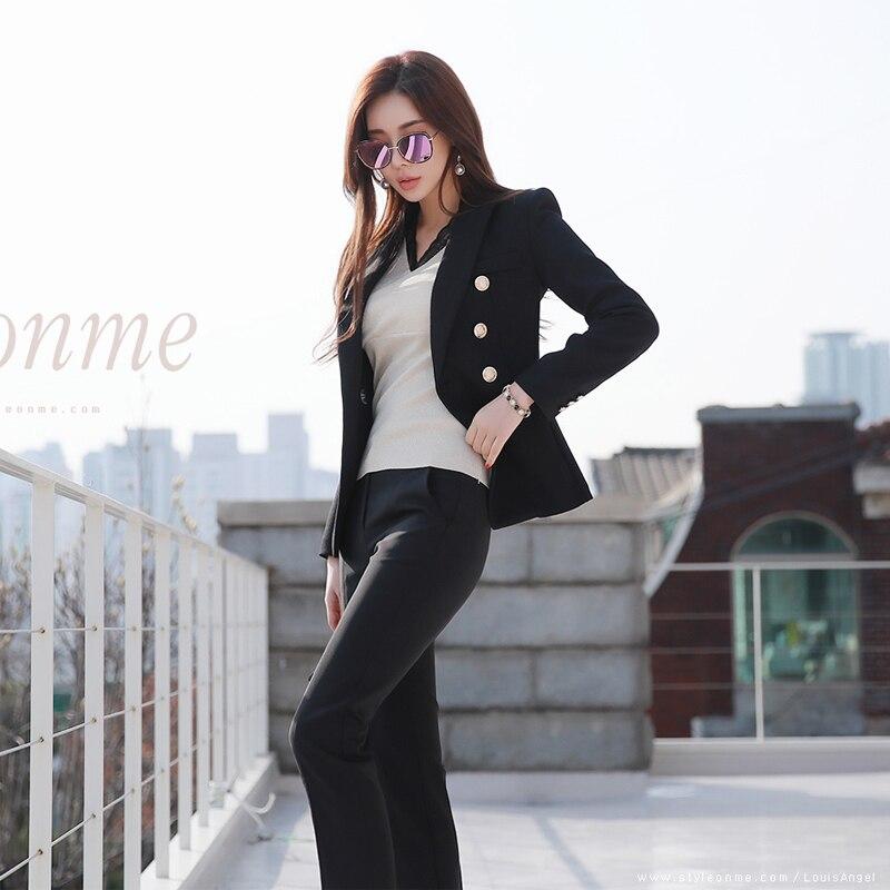 De Coréenne Costume Ensembles Slim Plus Version Couleur Ensemble 1 Pièces Taille Nouveau Tweed 2019 La Tenue Mince Deux Femmes Unie Tempérament wxHxqZ8f