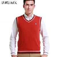 2015 New Arrival Cotton Sweater Men S Vest Striped Shirt Men Sweaters V Neck Slim Pullovers
