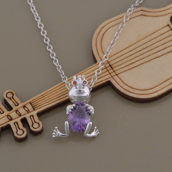 wholesale High quality silver Fashion jewelry chains necklace pendant WN-1399