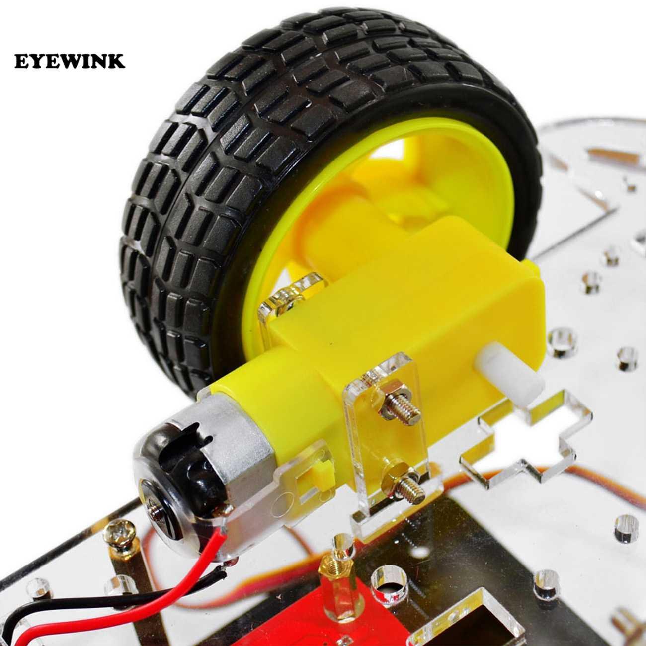 Интеллектуальный Набор для обучения автомобилей Робот умный Черепаха Беспроводное управление на основе Arduino робот Комплект для сборки автомобиля