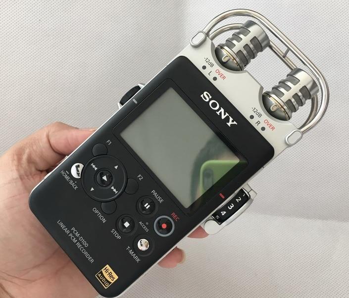 Utilizzato, Sony PCM-D100 Portatile Ad Alta Risoluzione Audio/Voice Recorder, 100% di lavoro di buonaUtilizzato, Sony PCM-D100 Portatile Ad Alta Risoluzione Audio/Voice Recorder, 100% di lavoro di buona