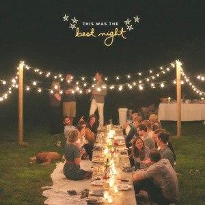 Image 1 - VNL White Wedding String Light,Retro Garden Decorative Garland Light With 25 Clear Ball Bulbs for Outdoor Hanging Umbrella Patio