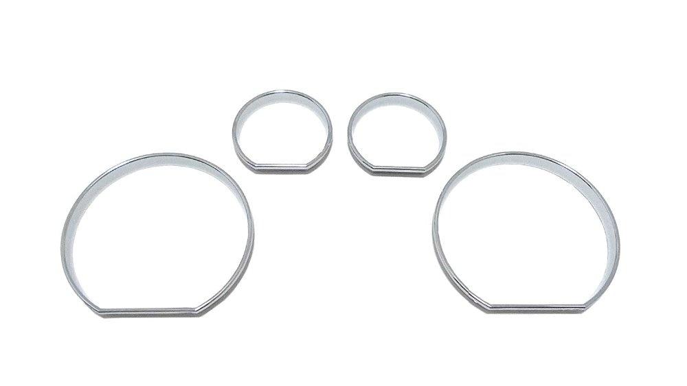 Chrome Speedometer Gauge Dial Ring Instrument Panel Ring
