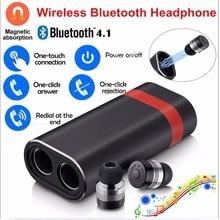 YEINDBOO Wireless Bluetooth Earphones 4.1True Wireless Earbuds Headset Stereo Bluetooth Earphone For iphones Xiaomi Samsung