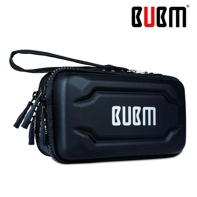 BUBM power bank single layer double layer Portable Travel Organizer digital receiving bag comestic organizer bag detachable hand