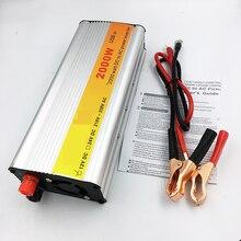 Original 2000 W Completa Car Inversor DC 12 V para AC 220 V Carregador de Potência Do Inversor Transformador de Potência Do Inversor de Potência Do Veículo interruptor