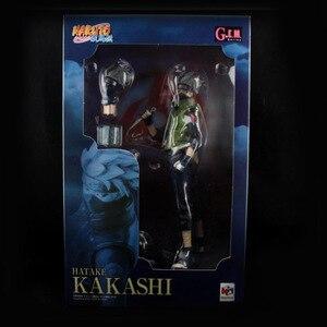 Image 5 - Figurines Naruto Kakashi, offre spéciale, 23cm, dessin animé, Shippuden, modèle en boîte à collectionner, jouets poupée, cadeaux danniversaire, WX403