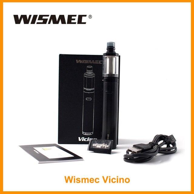 Большая распродажа 100% оригинальный wismec vicino комплект 22 мм Диаметр 3,5 мл ёмкость тройной 0.2ohm катушки 510 нитки Vape электронная сигарета