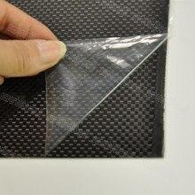 1 шт., толщина 0,3 мм, 400x500 мм, 400x250 мм, 500x500 мм, пластина из 100% углеродного волокна, лист с глянцевой поверхностью 3K