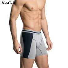 Hot Sell 2019 New Fashion Long Boxers Mens Boxer Loose Mid Waist Shorts Comforta