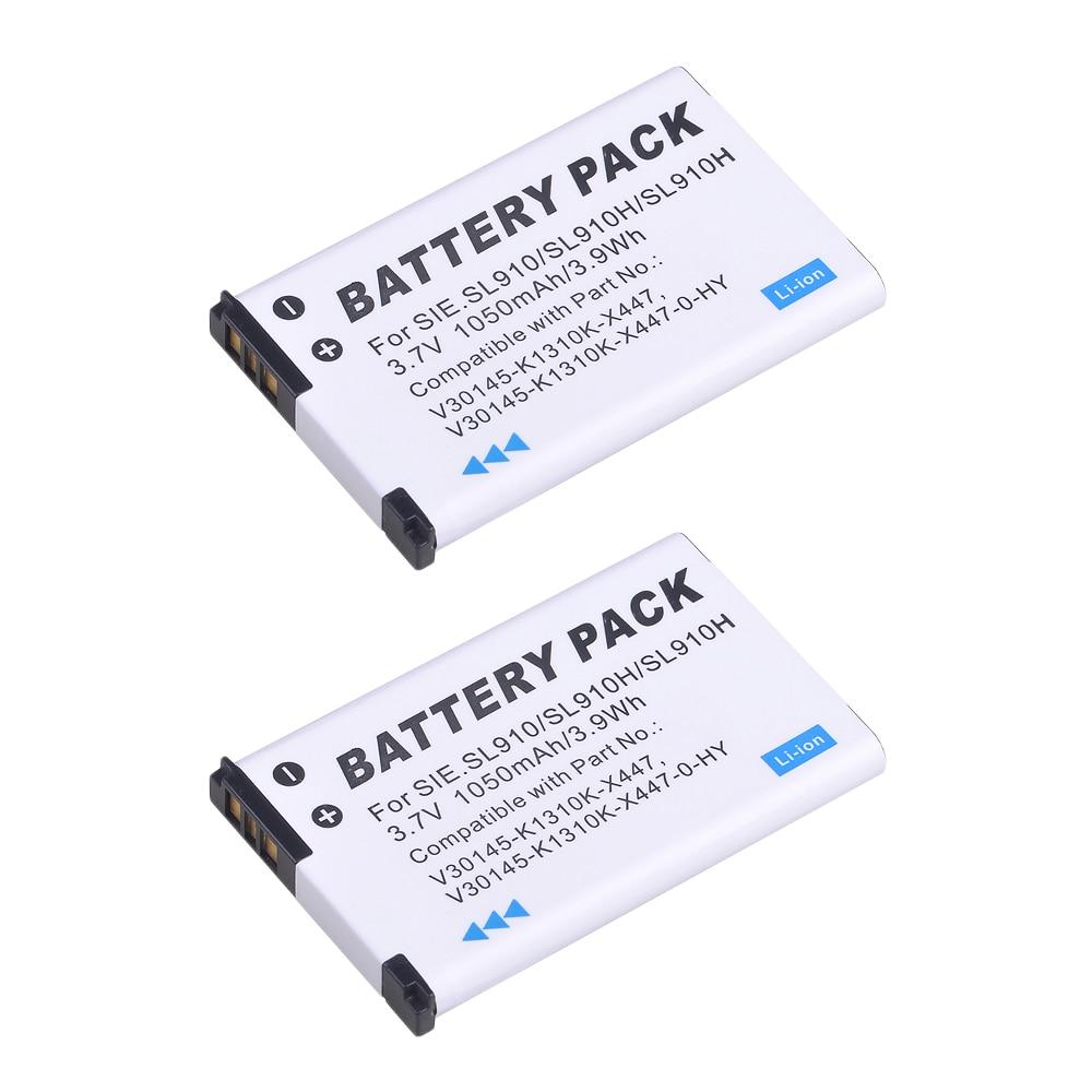 2X 1050mAh Cordless Phone Rechargeble Li ion Battery for