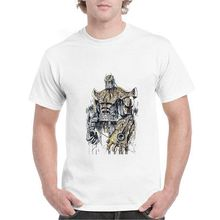 Loki/Thor/Iron Man/Thanos Marvel Superhero ฤดูร้อน Plus ขนาดหลวม O - NECK Modal Mens Tshirts casual A193291(China)