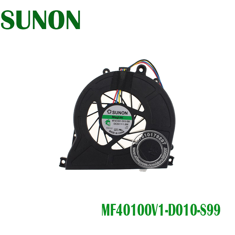 New Original CPU Cooling Fan For Acer R3600 R3700 D410 D425 D510 D525 AS3610 MS2177 SUNON MF40100V1-Q000-S99 MF40100V1-D010-S99