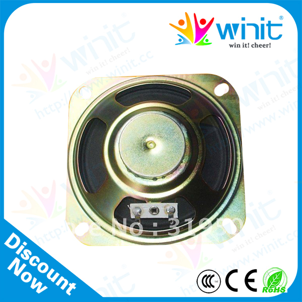 """4"""" Small portable Square Speaker 102mm 100pcs in lot speaker cable speaker wire for arcade gaming"""