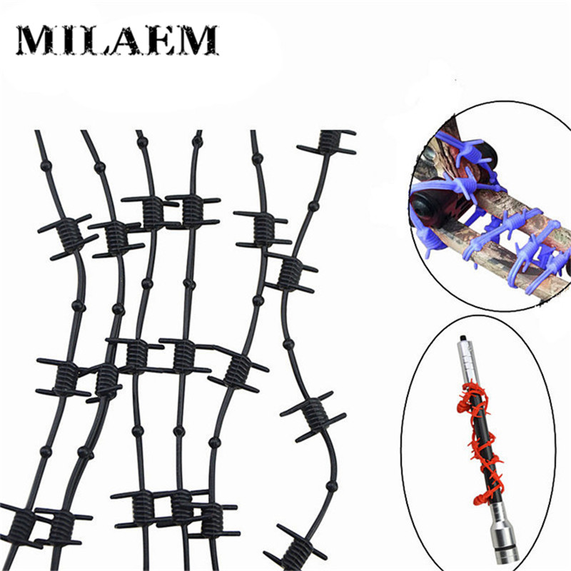 6pcs/Set Rubber Bow Vibration Limb Damper Stabilizer Shock Absorber Damping Silencer For Compound Bow Hunting Archery Accessory
