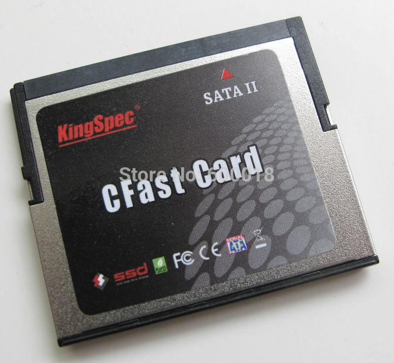 L Kingspec 7 + 17 pin CFAST Memory Cards SATA 2 SSD 4GB 8GB 16GB 32GB 64GB 128GB 2 Channel MLC Industrial device,router ,slrs