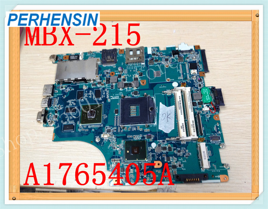 For SONY For VAIO VPCF VPC-F F115FM Laptop MOTHERBOARD M930 MBX-215 1P-009BJ00-8012 A1765405A 100% WORK PERFECTLY motherboard for sony mbx 209 m922 mb mp 1p 0104j00 8012 100