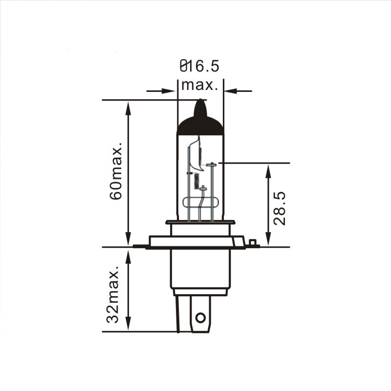 H4 Bulb Diagram Terminal 9007 Bulb Pinout • Wiring