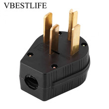 50A 125/250V US Plug Adapter Converter Four Pin US Plug Power Socket NEMA 14-50P For Generator coolm us plug