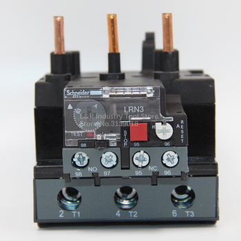 New Original Schneider EasyPact TVS LR-E363N 63-80A Adjustable Thermal Overload Relay Updated To LR-N363N