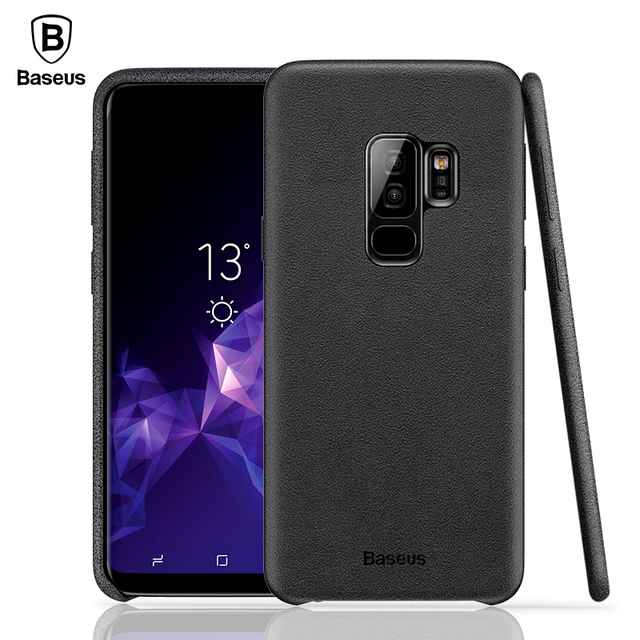 Baseus Samsung Galaxy S9 S9 Plus Retro Fabric Back Case Cover