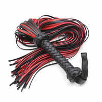 LONG 65CM 170g Leather Hand Made Pimp Whip Racing Riding Crop Party Flogger Queen Whip for Sex Horse Bdsm Sex Toys Adults
