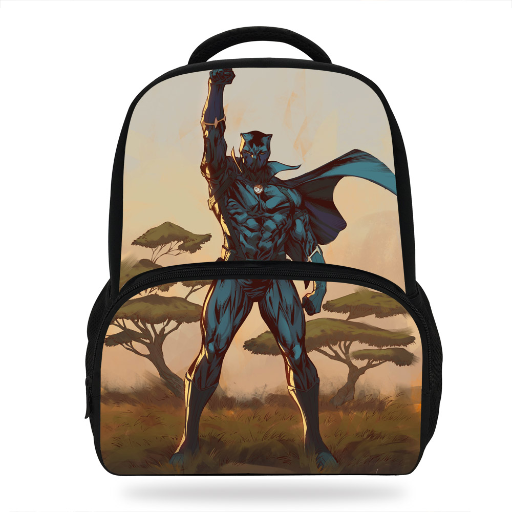 Sensational Hot Sales Backpack Ant Man Black Panther Cartoon Super Hero Bralicious Painted Fabric Chair Ideas Braliciousco