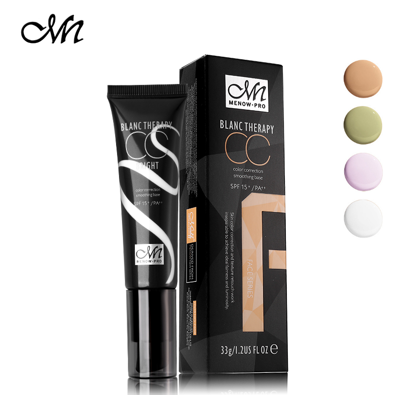 33g Menow 4 Barvy Concealer Cream Smooth Multi-efekt Make-up na - Makeup