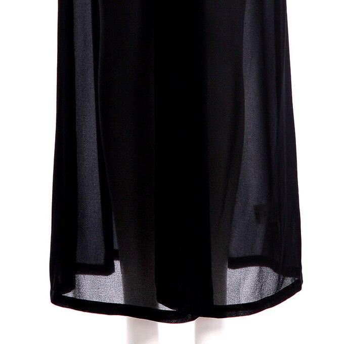 V Escote Chifon Mujer Manga Abrigo Xxxxl Alta De Negro En Estilo Mujeres Verano Sol Sexy Largo Larga Calidad Nuevo 2017 Profundo Playa Perla 4vpBn74