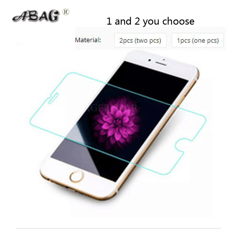 ABAG Tempered Glass  Screen Protector for iPhone 6 6S 7 Plus Film 8 plus X XR XS SE 5S Tough Protection