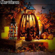 OurWarm Halloween Decoration for Home Heritage Lace Lamp Sha