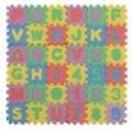 36 unids/set nuevo alfabeto y números romanos bebé Kids Play Mat juguetes educativos Soft colchonetas de espuma 47 x 47 mm