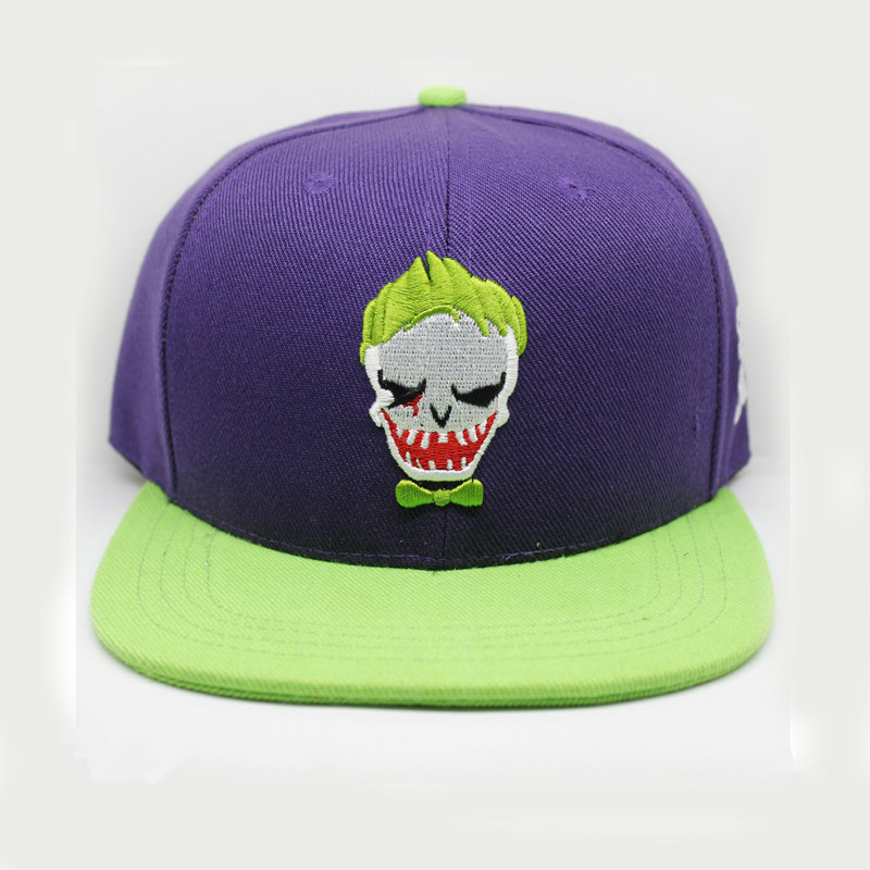 Suicide Squad Clown Joke Hats New Fashion Men and Women Cosplay Hip Hop Baseball Cap Funny Caps Casual Outdoor Snapback hat cntang brand summer lace hat cotton baseball cap for women breathable mesh girls snapback hip hop fashion female caps adjustable