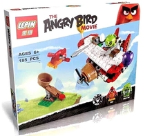 2016 black red birds pig kids boys action & toy figure & hobbies plush blocks 2 legoed