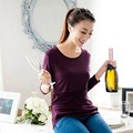 Long Sleeve Maternity Nursing Tops Pregnancy Breastfeeding Tees Shirt Clothes For Pregnant Women Wear Feedding Clothing