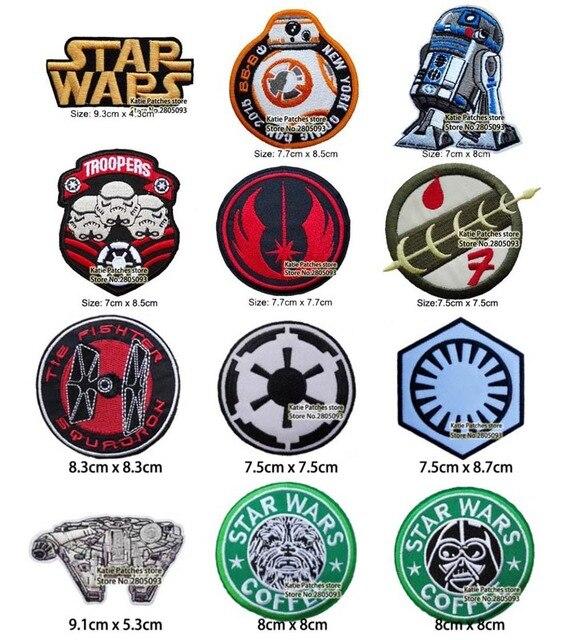 ( Frage/info)Fraktion patches Star-Wars-Logo-Jedi-Auftrag-R2-D2-Storm-Trooper-Miexed-Gesticktes-Eisen-Auf-Flecken-film-Stoff.jpg_640x640