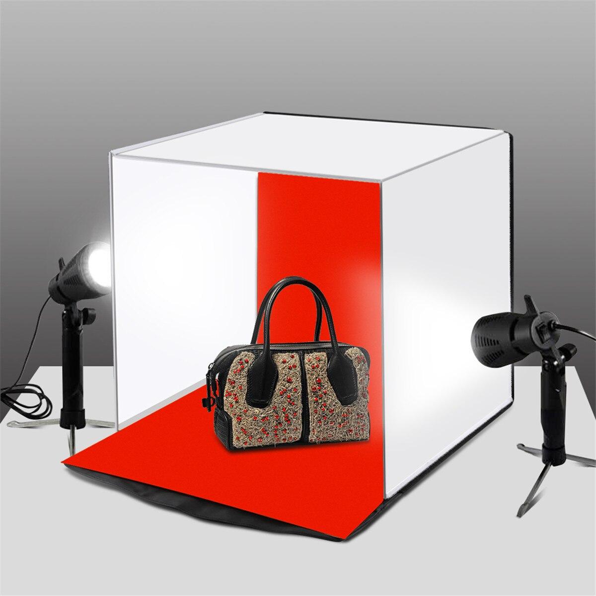 купить New Arrival 40x40x40cm Softbox Portable Photography Boxes Photo Studio Box Photography Backdrop Room Mini Tent недорого